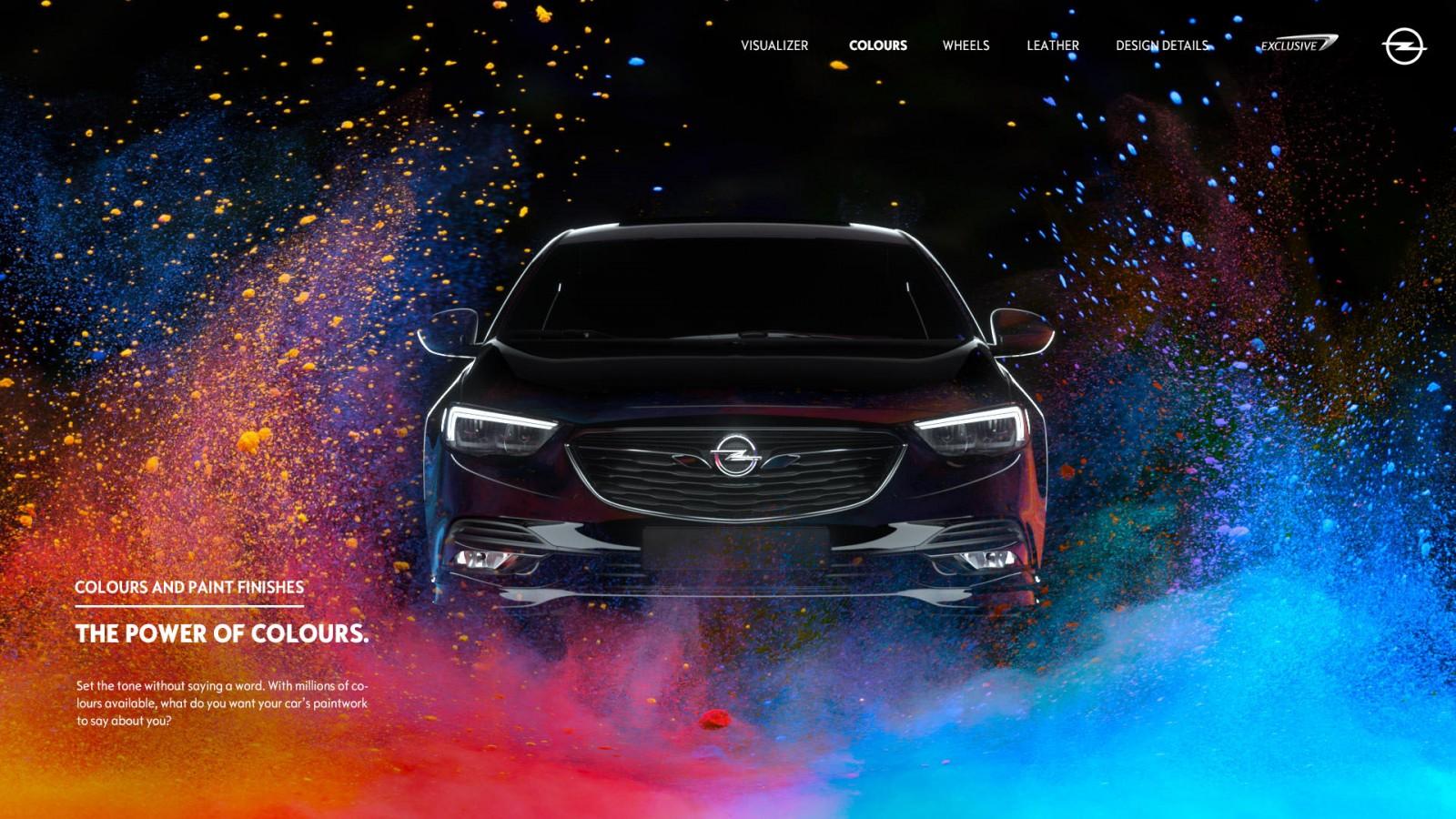 Joscha Unger | Website-Referenz | Opel - Exclusive Website