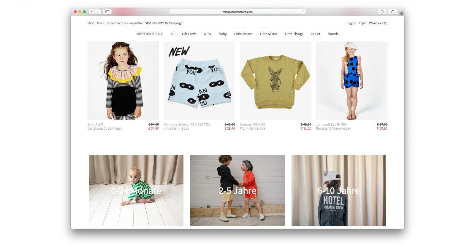 Azoo Online-Shop by Joscha Unger